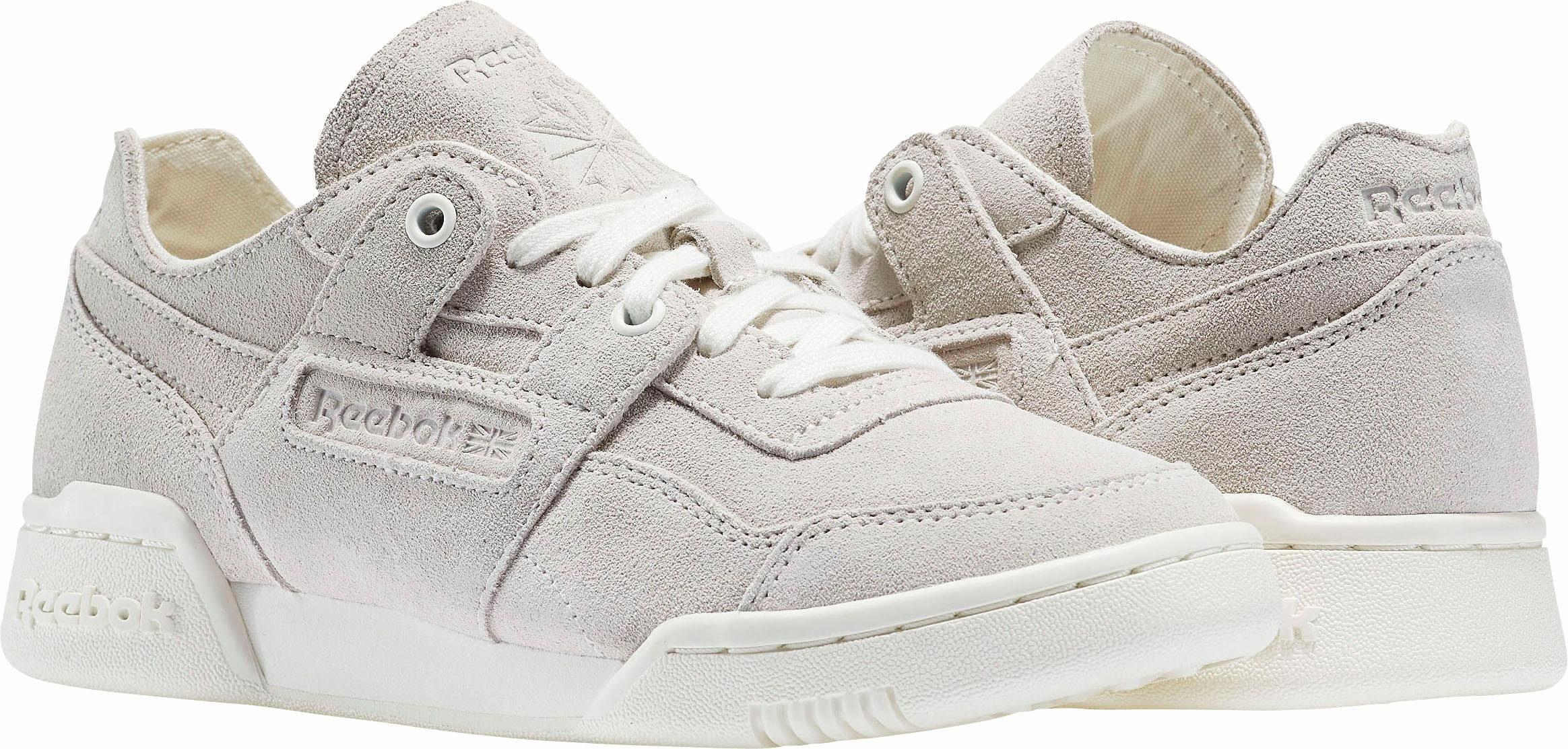 Miroitement En Cuir Roebuck Cl W Chaussures Sneakers Lo Gris 4SccHz