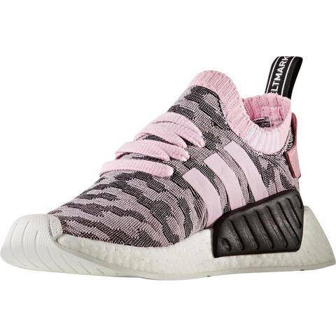 Adidas NMD damessneaker roze en grijs