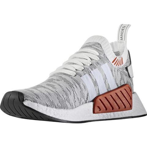 Adidas NMD herensneaker wit en grijs