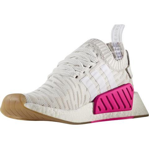 Adidas NMD damessneaker wit en grijs