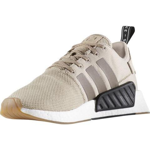 Adidas NMD herensneaker beige en bruin