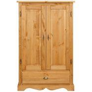 home affaire linnenkast »teo«, 2-deurs, met 1 lade en 2 losse planken, breedte 95 cm beige