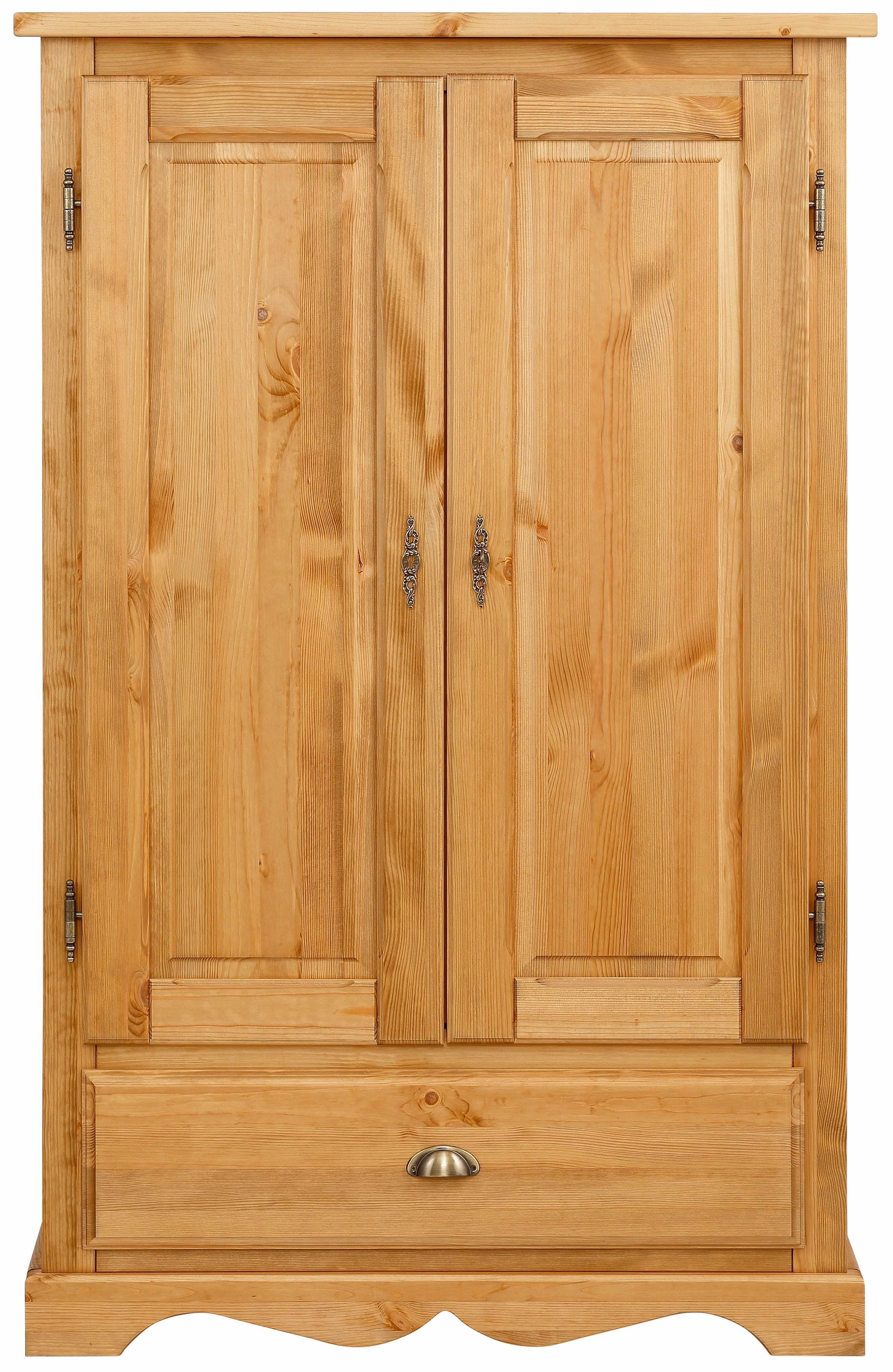 Home affaire linnenkast Teo 2-deurs met 1 lade en 2 losse planken, breedte 95 cm nu online bestellen