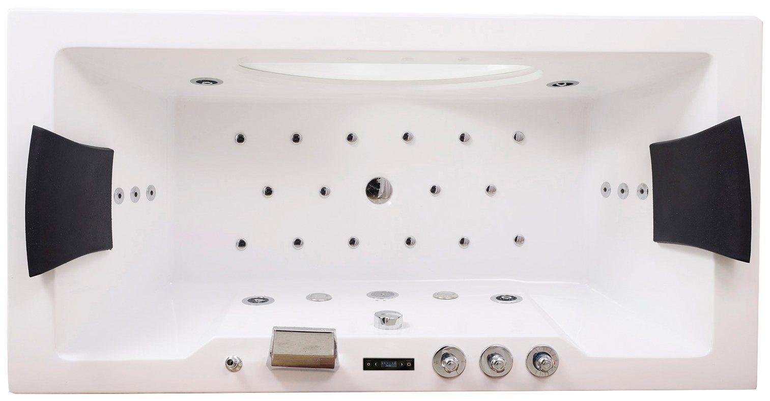 Whirlpool Bad Informatie : Complete set whirlpoolbad white m« bxdxh in cm met