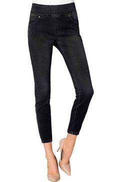 création l jeans in 3-4-lengte zwart