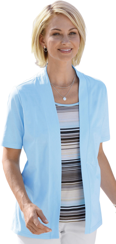 Casual Looks shirt met gedessineerde inzet online kopen op otto.nl