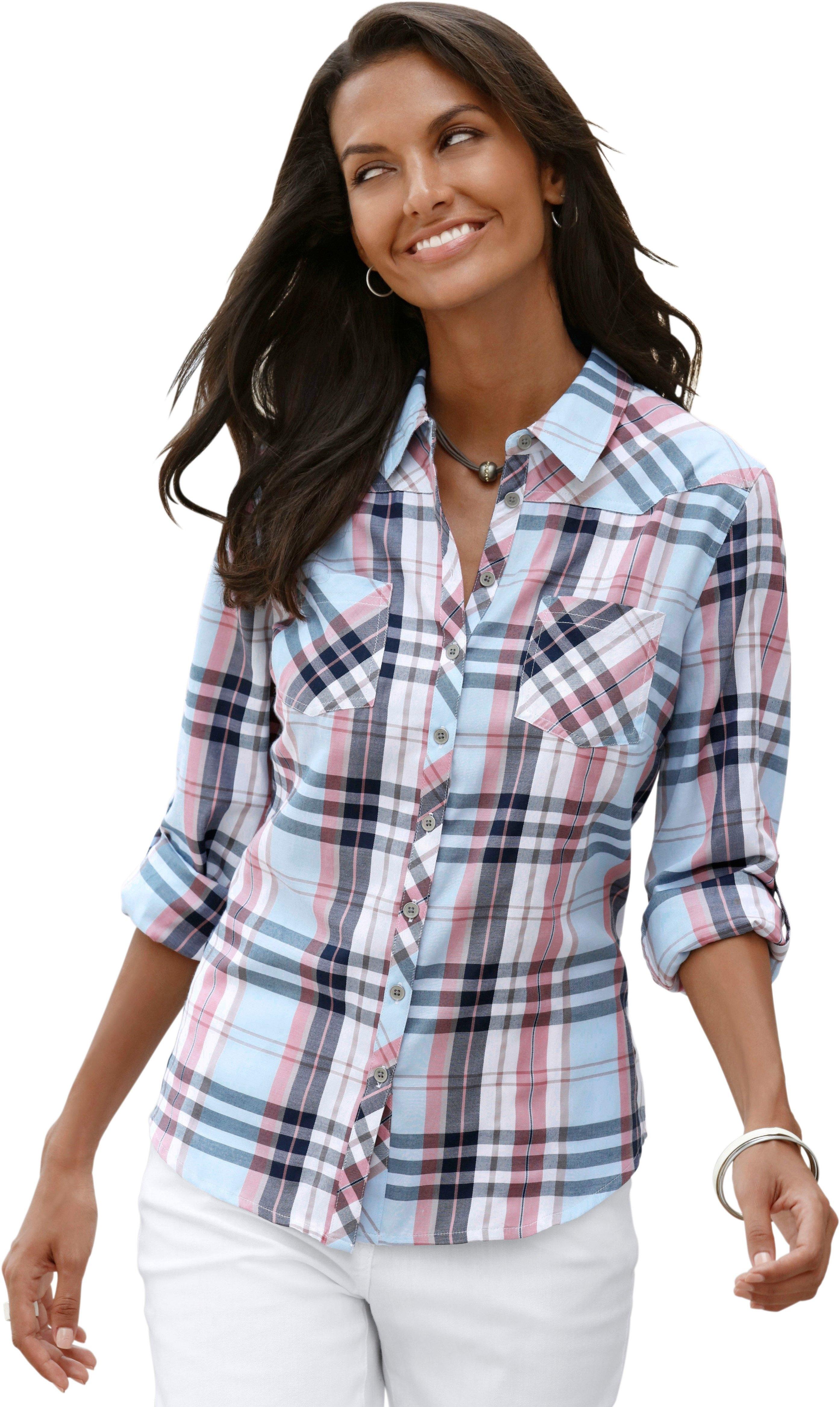 Casual Looks blouse met overhemdkraag goedkoop op otto.nl kopen