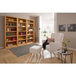 boekenkast, 3-delig beige