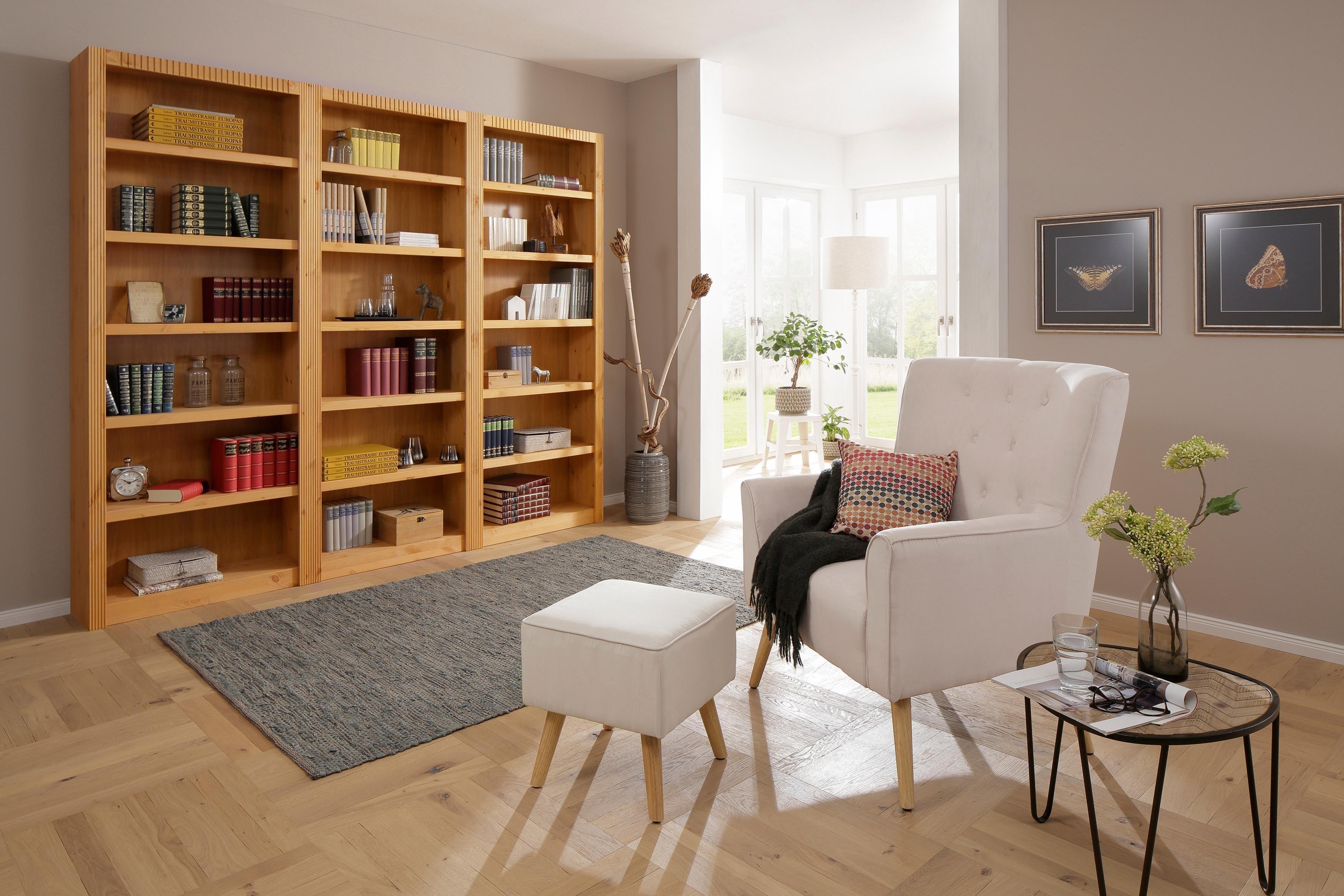 boekenwand met ladeset 3 delig home affaire open kast billie breedte 1735 cm home affaire boekenkast konrad