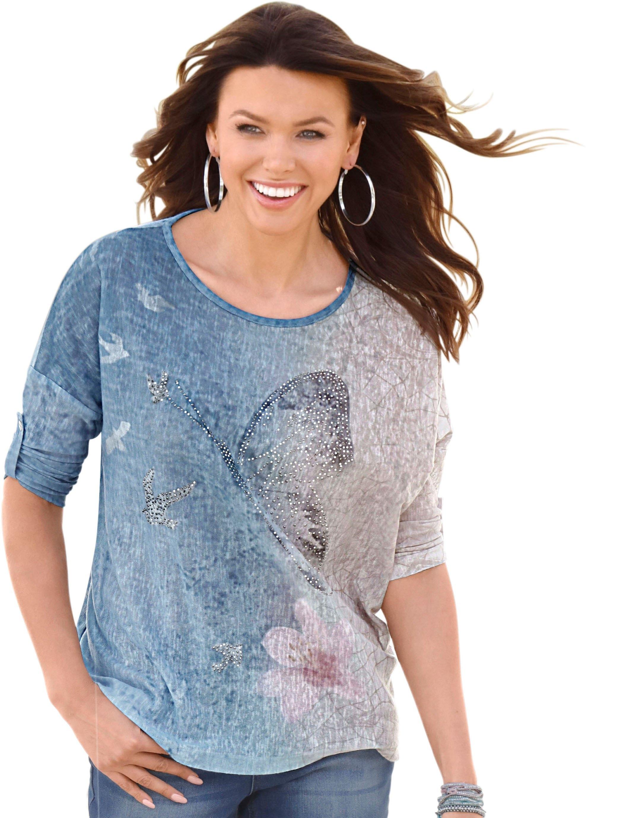 Ambria Shirt met glinstersteentjes - verschillende betaalmethodes