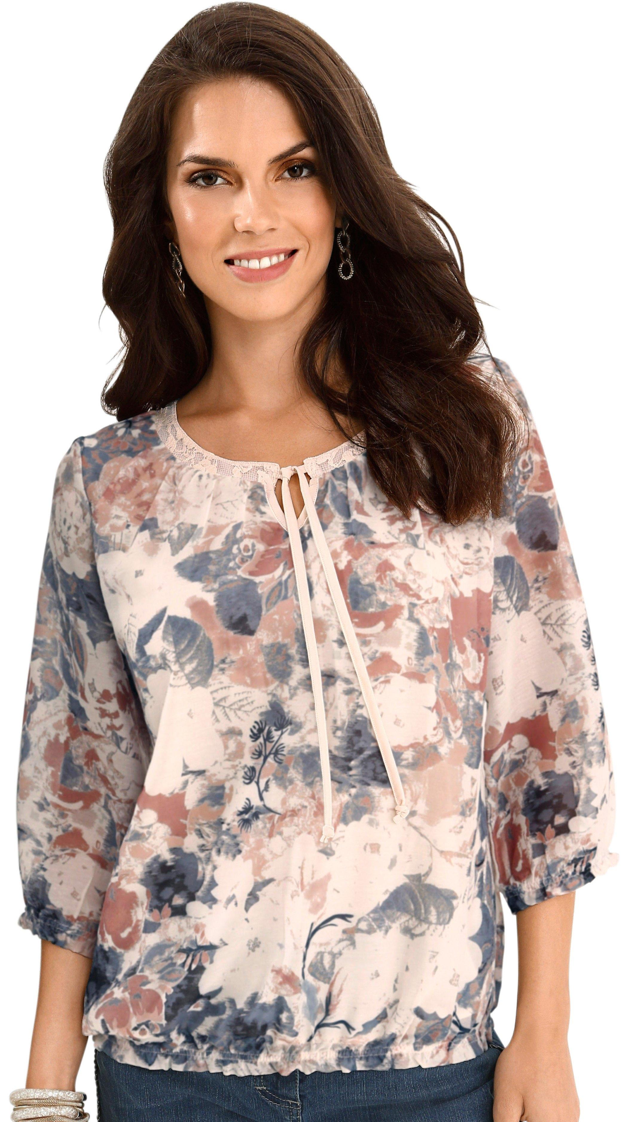 Alessa W. blouse met bloemdessin in de webshop van OTTO kopen