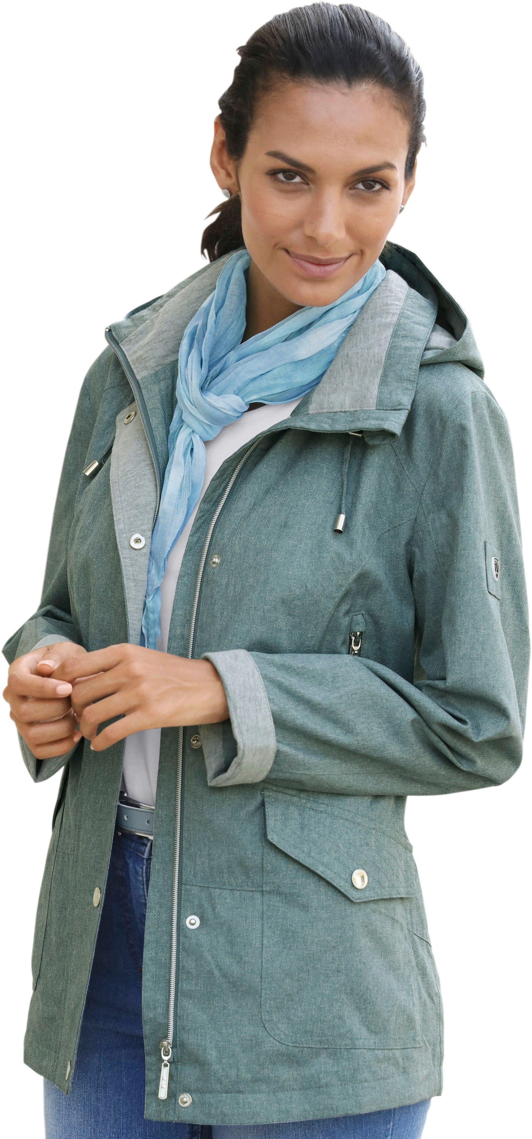 Casual Looks jas met gevoerde capuchon goedkoop op otto.nl kopen