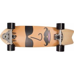 sportplus ezy! carver-board, »the face sp-sb-403« bruin