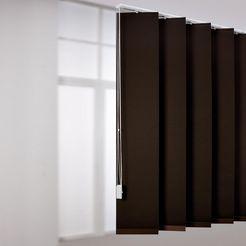 xxl-lamellen, liedeco, voor verticale xxl-rails bruin