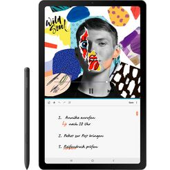 samsung »galaxy tab s6 lite wifi« tablet grijs