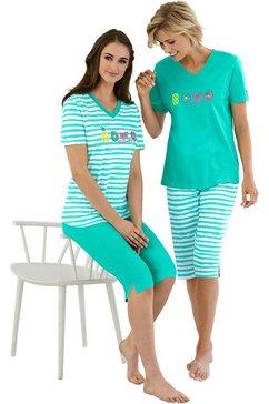 comtessa pyjama (set van 2) groen
