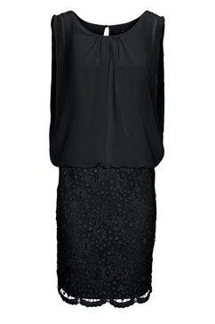 kanten jurk zwart