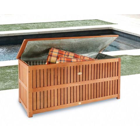 Kussenbox , eucalyptushout, bruin