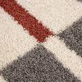 hoogpolige loper »gala shaggy 2505«, ayyildiz teppiche, rechthoekig, hoogte 30 mm, machinaal geweven bruin