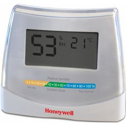 honeywell 2-in-1 hygrometer en thermometer hhy70e wit