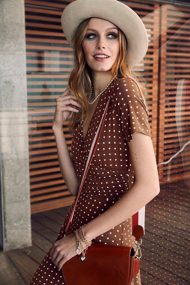 Bruno Banani A-lijn jurk bruin