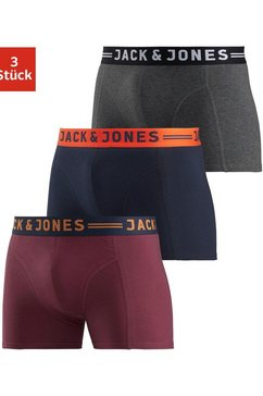 jack  jones boxershort »jac lichfield trunks« (set van 3) multicolor
