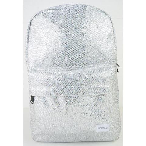 Spiral® rugzak met laptopvak, OG Platin, silver glamour