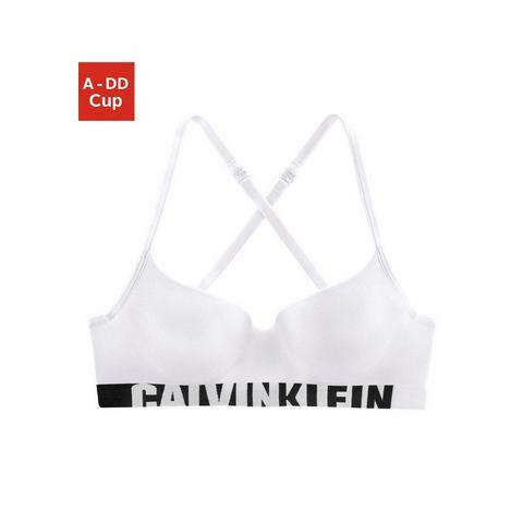 Dames Calvin Klein bh met steuncups Calvin Klein wit Lingerie