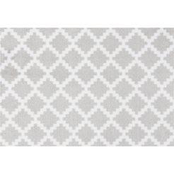 mat, »elegance«, zala living, rechthoekig, hoogte 7 mm, machinaal getuft grijs