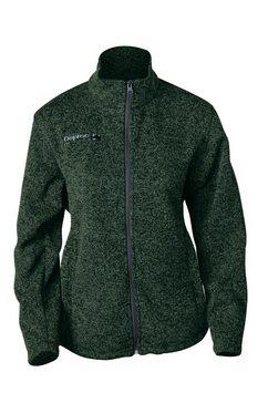 deproc active tricot-fleecejack »elkford women« groen