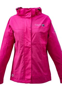deproc active outdoorjack »cambridge women met afneembare capuchon« roze