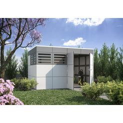 skanholz tuinhuisje »sydney 4«, bxd: 337x253 cm grijs