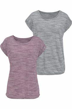 beachtime shirt met korte mouwen »beach time t-shirt« paars
