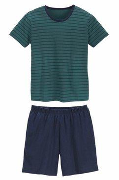 le jogger shortama, kort groen