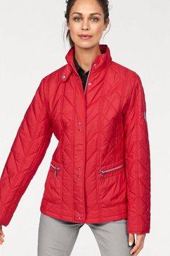 windfield gewatteerde jas rood