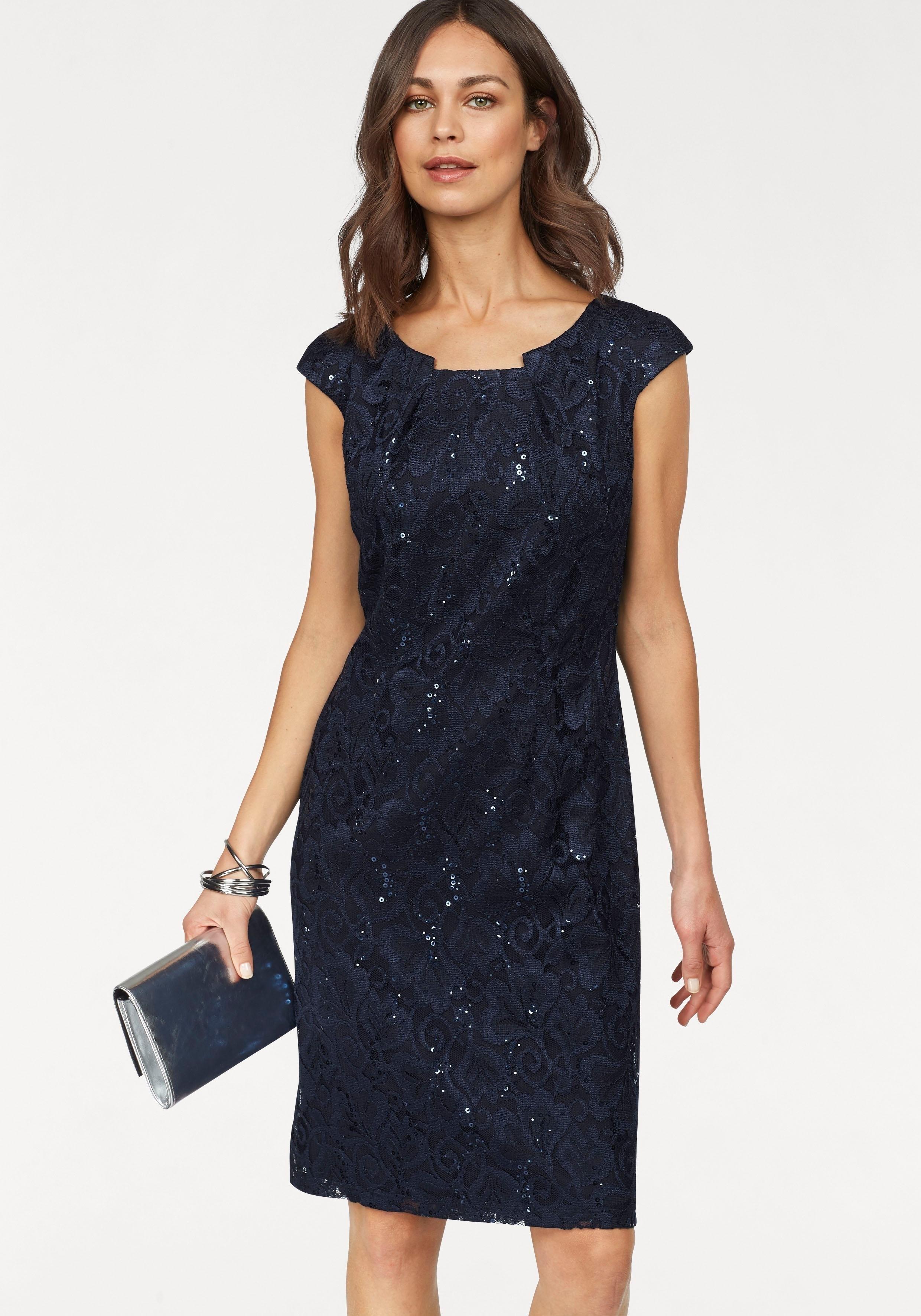 Uitzonderlijk select! By Hermann lange kanten jurk bestellen bij | OTTO @EO76