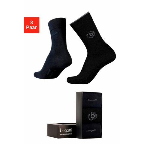 Bugatti sokken (set van 3 paar) in geschenkbox