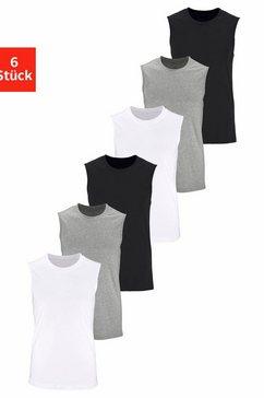 muscle-shirt (set van 6) multicolor