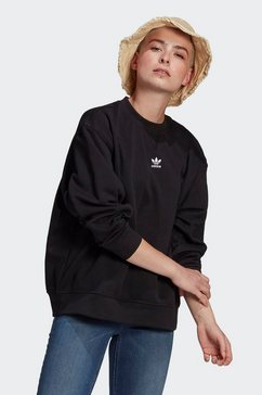 adidas originals sweatshirt »adicolor essentials« zwart