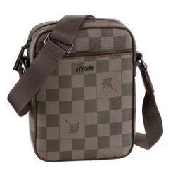 joop! schoudertas in praktisch formaat, perfect voor een gsm bruin