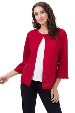 lady cardigan rood