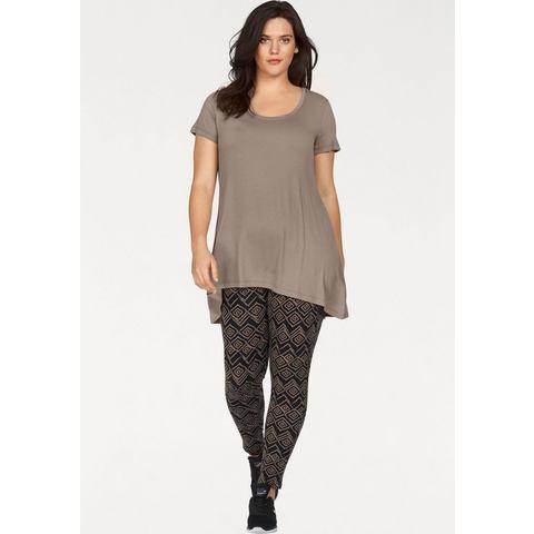Flashlights NU 15% KORTING: FLASHLIGHTS lang shirt achter iets langer (set met legging)