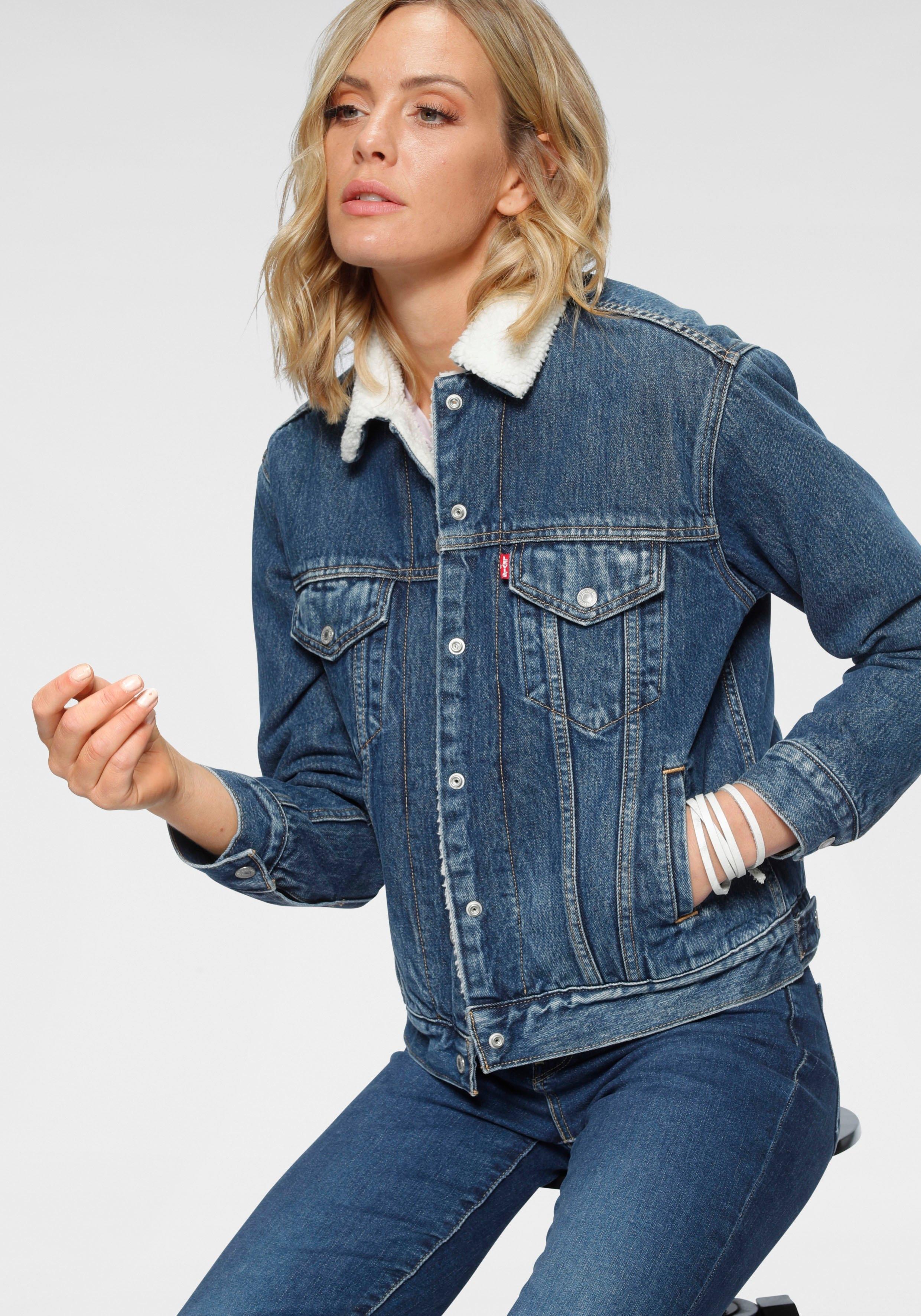 Levi's jeansjack »EX-Boyfriend Sherpa« - verschillende betaalmethodes