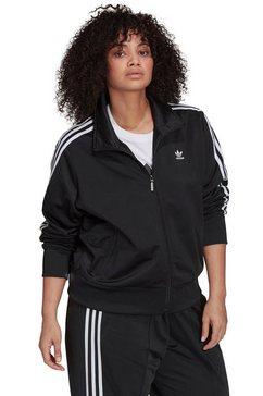 adidas originals trainingsjack firebird tt pb (plus size) zwart