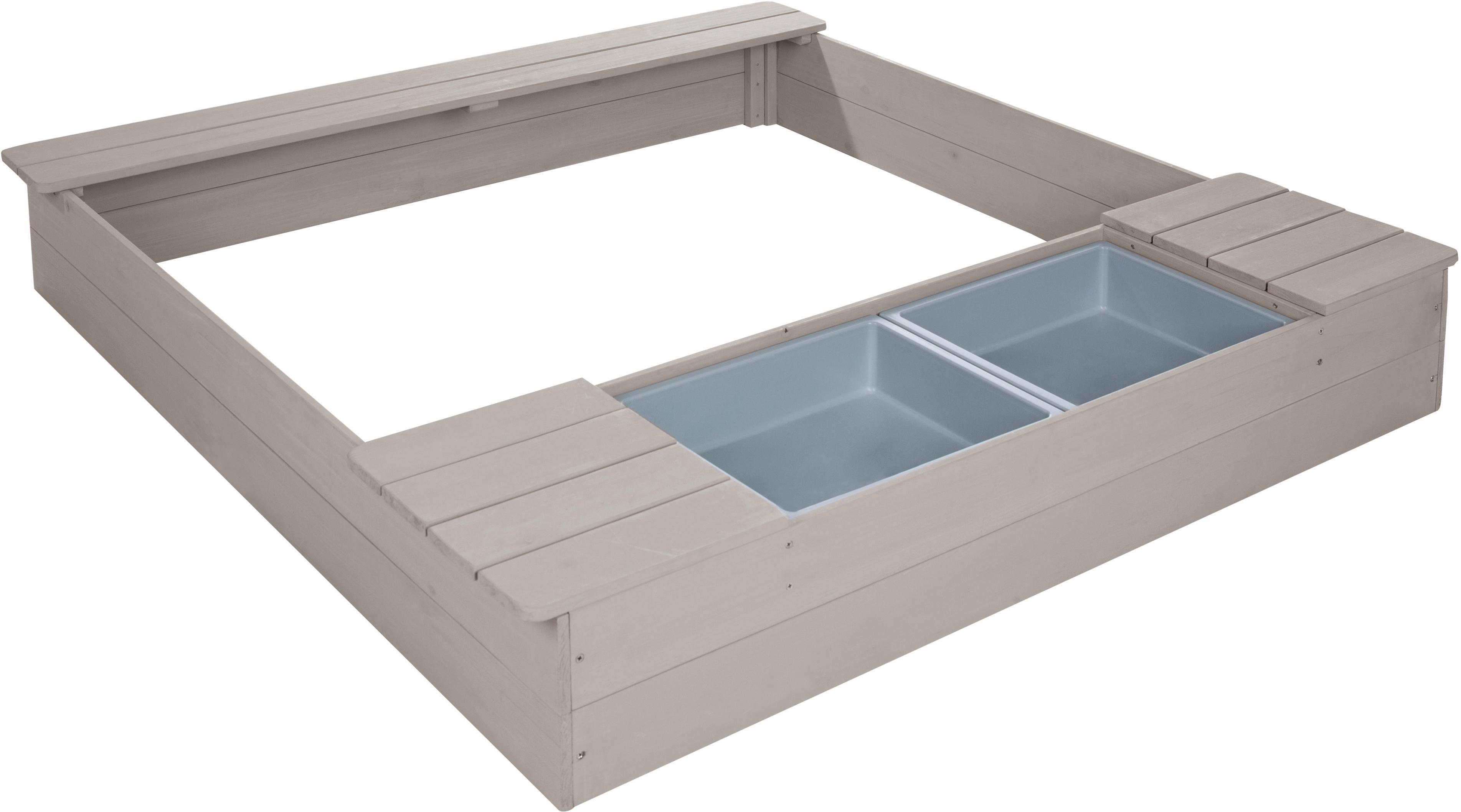 Roba zandbak met speelbak, bxd: ca. 121x125 cm bestellen: 14 dagen bedenktijd