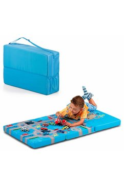 hauck vouwmatras fun for kids, sleeper playpark, 60x120 cm inclusief transporttas (1 stuk) blauw