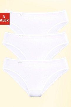 sloggi jazzpants »24-7 cotton« (set van 3) wit
