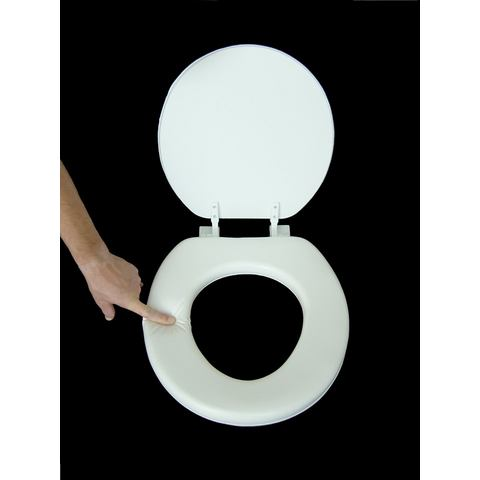 Badkameraccessoires Toiletzitting Soft 477705 wit