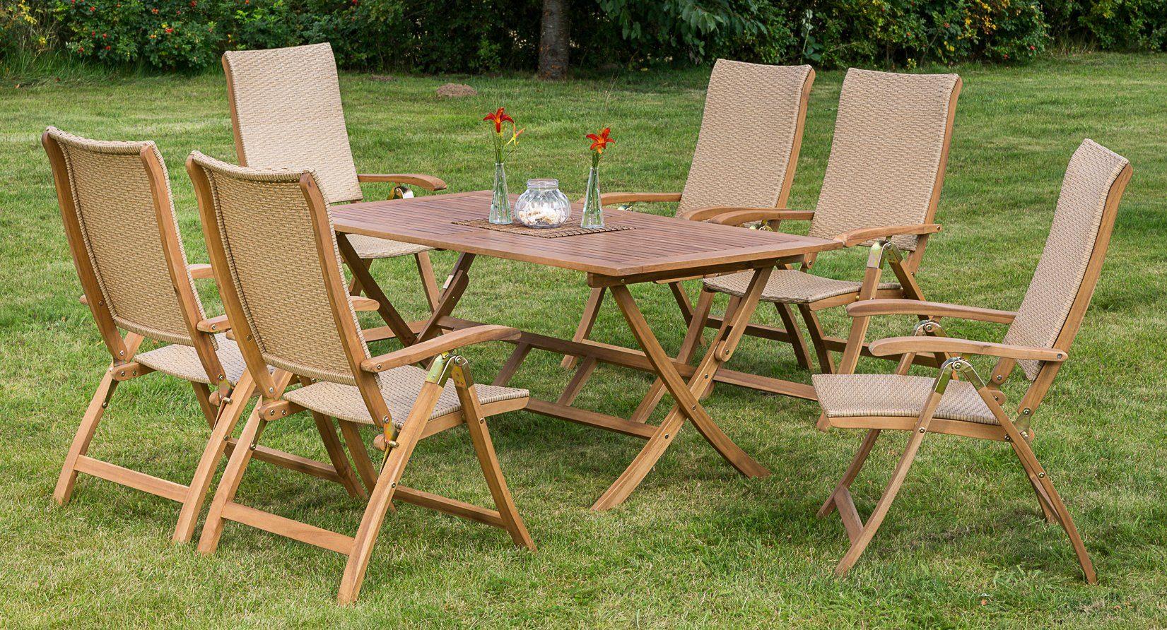 Inklapbare Tafel Kopen : Merxx tuinmeubelset capri« dlg klapstoelen tafel