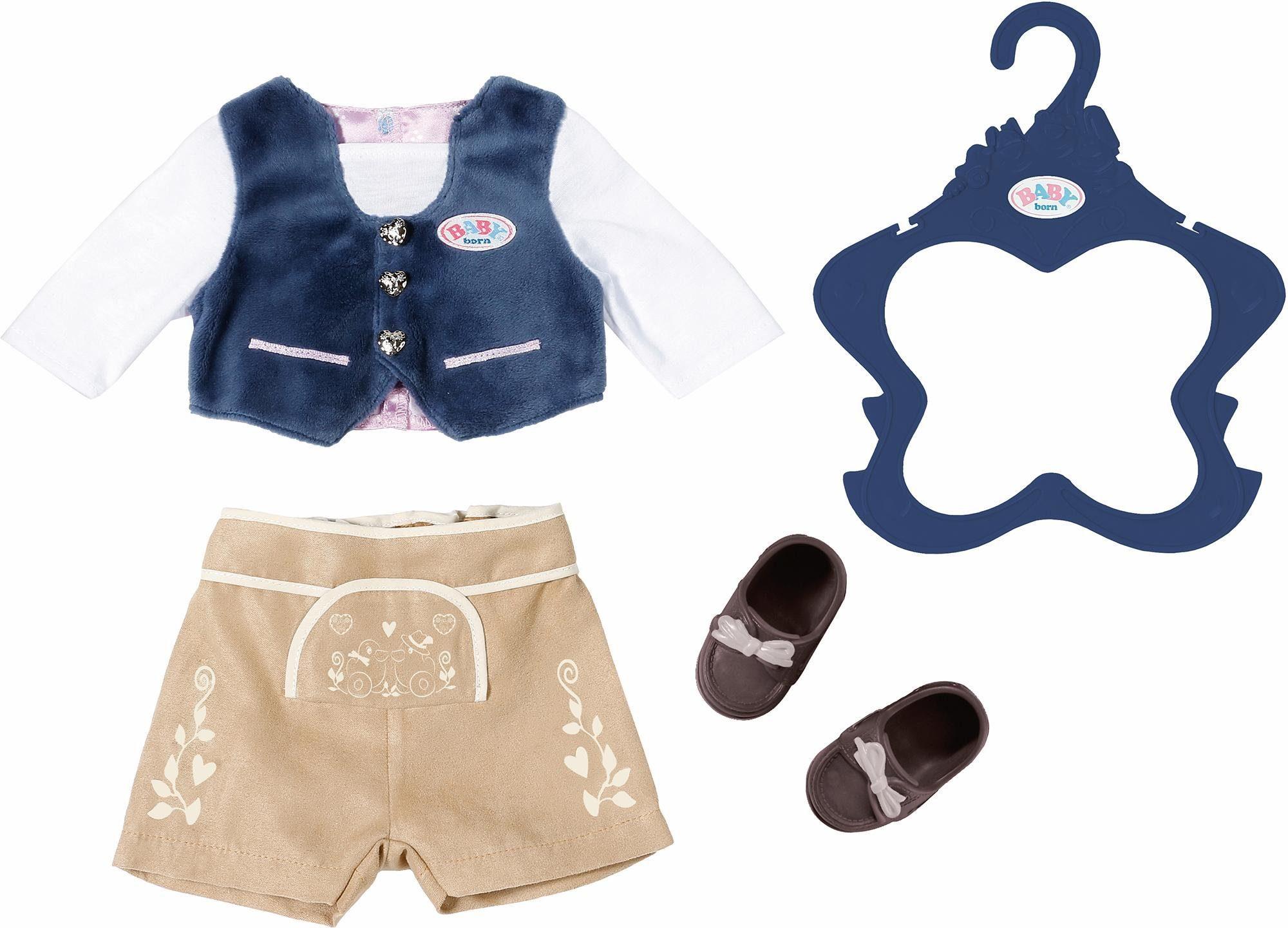 Zapf creation poppenkleding baby born folklore outfit jongen